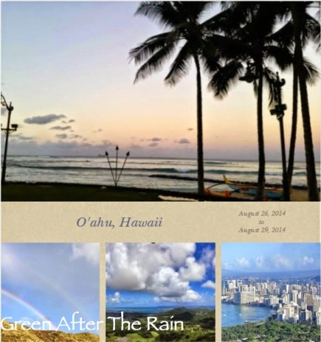 My Oahu Hawaii Itinerary