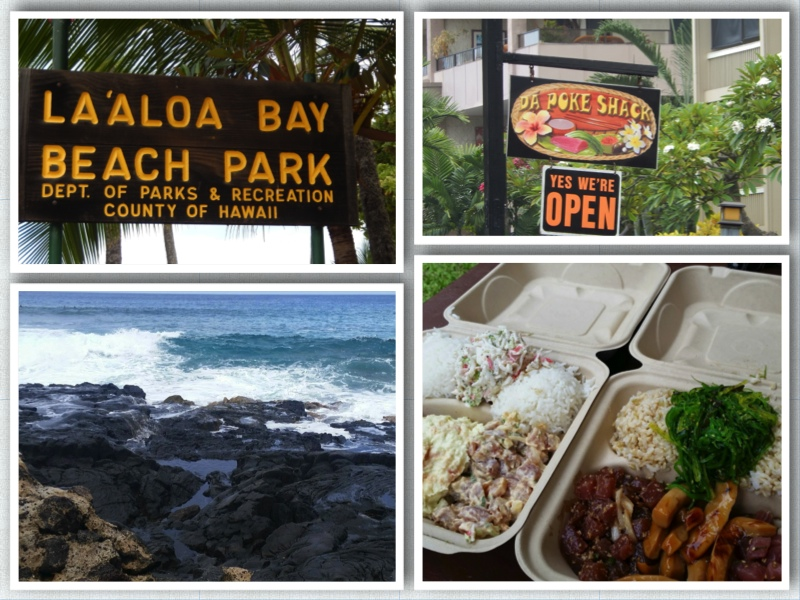 Laaloa Beach and Da Poke Shack